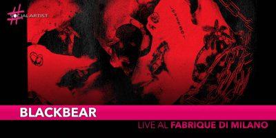 Blackbear, live il 17 ottobre al Fabrique di Milano