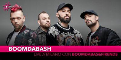 """Boomdabash, il 9 maggio live all'Alcatraz di Milano """"Boomdabash&Friends"""""""