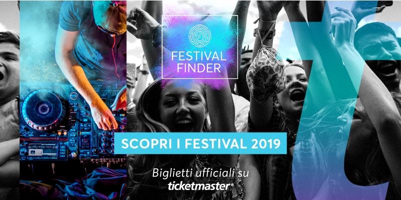 Festival Finder, arriva la nuova guida ufficiale ai festival estivi del 2019
