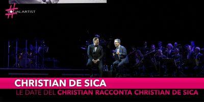 Christian De Sica, nuove date per la tournée teatrale