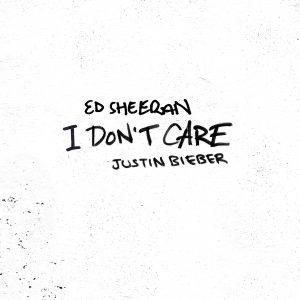 Ed Sheeran I don't care Justin Bieber