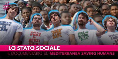 Lo Stato Sociale, il documentario per Mediterranea Saving Humans