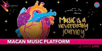 Macan Music Platform, quattro live esclusivi con Porche Italia e Warner Chappell
