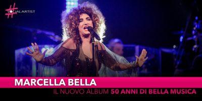 """Marcella Bella, dal 31 maggio il nuovo album live """"50 anni di Bella musica"""""""