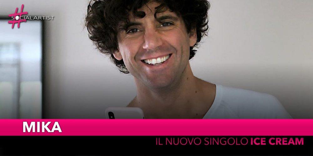 """Mika, da venerdì 31 maggio il nuovo singolo """"Ice cream"""""""