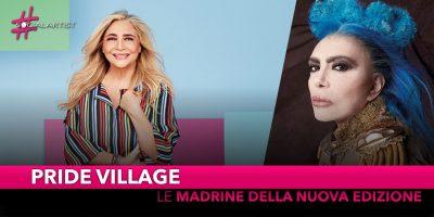Padova Pride Village, madrine d'apertura Mara Venier e Loredana Bertè