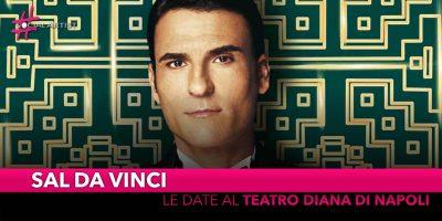 Sal Da Vinci, dal 16 al 19 maggio al Teatro Diana di Napoli