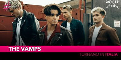 The Vamps, tornano in Italia il 9 novembre a Milano