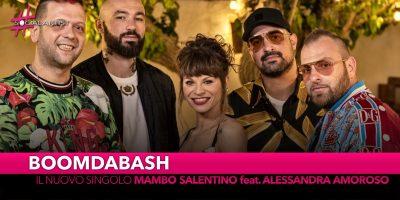 """Boomdabash, dal 7 giugno il nuovo singolo """"Mambo salentino"""" feat. Alessandra Amoroso"""