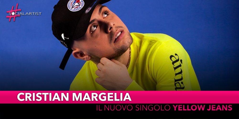 """Cristian Margelia, dall'11 giugno il nuovo singolo """"Yellow Jeans"""""""