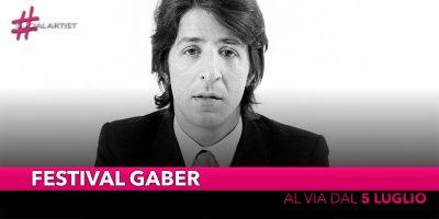 Festival Gaber, partirà da Camaiore il 5 luglio lasedicesima edizione della manifestazione