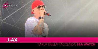 """J-Ax, il discorso sulla faccenda """"Sea Watch"""" durante il suo live a Bologna (Video)"""