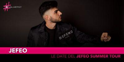 """Jefeo, dal 21 giugno è partito il """"Teenager Tour"""" (Date)"""