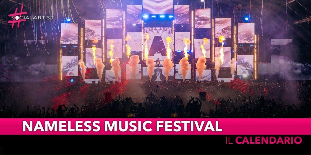 Nameless Music Festival, al via la settima edizione (Calendario e cast)