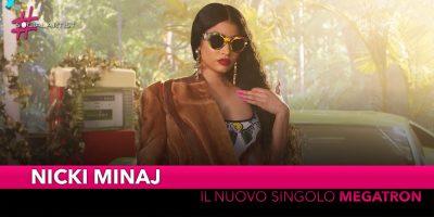 """Nicki Minaj, dal 21 giugno il nuovo singolo """"Megatron"""""""