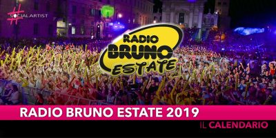 Radio Bruno Estate 2019, il cast e le info della nuova edizione