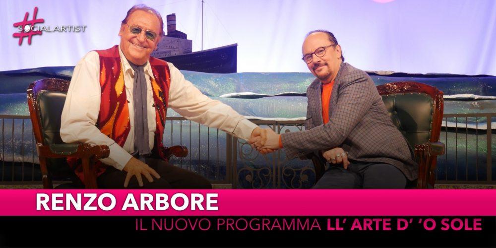 """Renzo Arbore, dal 12 giugno in prima serata con """"Ll' arte d' 'o sole"""""""