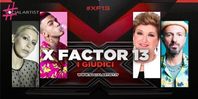 X Factor 13, svelati i nomi dei giudici della nuova edizione