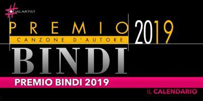 Premio Bindi 2019, una serata omaggio a Fabrizio De Andrè