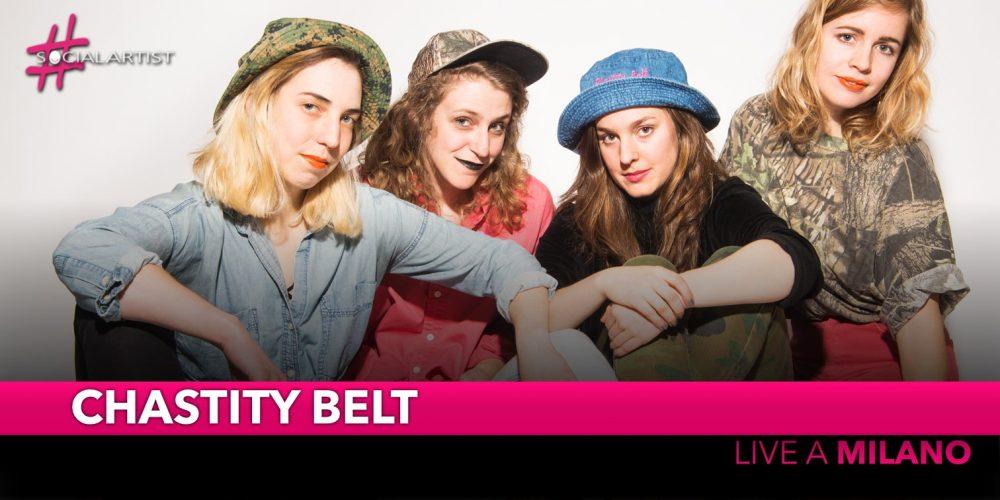 Chastity Belt, live al Serraglio di Milano il 1 ottobre