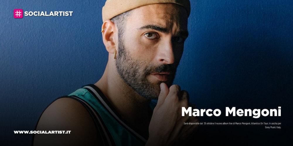 """Marco Mengoni, dal 25 ottobre il nuovo album live """"Atlantico On Tour"""""""