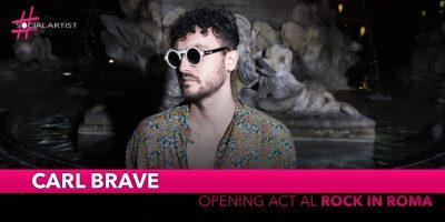 Carl Brave, opening tutta al femminile per il live a Rock in Roma