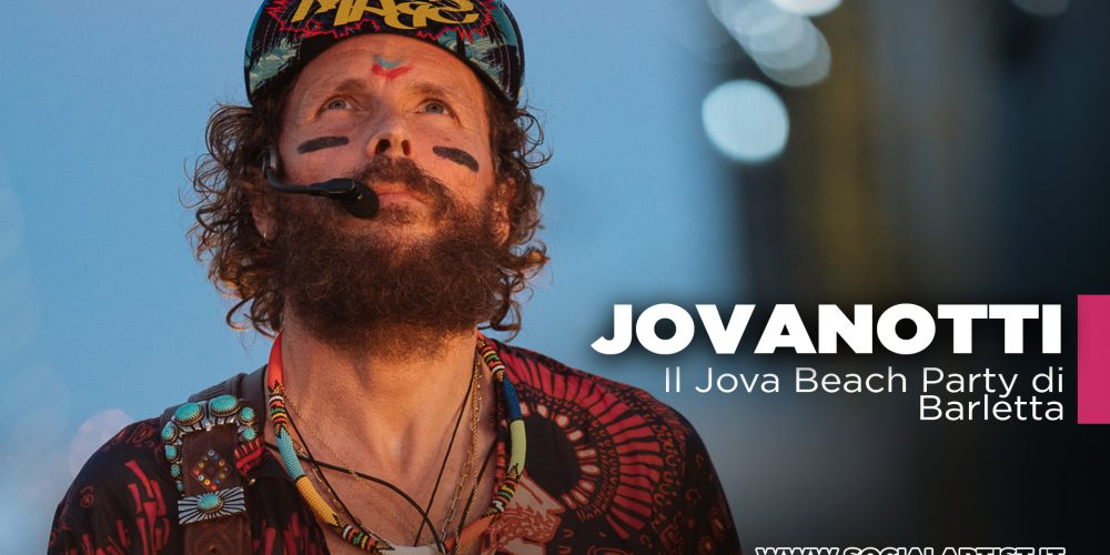 Jovanotti, il Jova Beach Party di Barletta