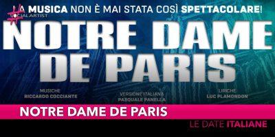 Notre Dame De Paris, tornerà in Italia con le musiche di Riccardo Cocciante