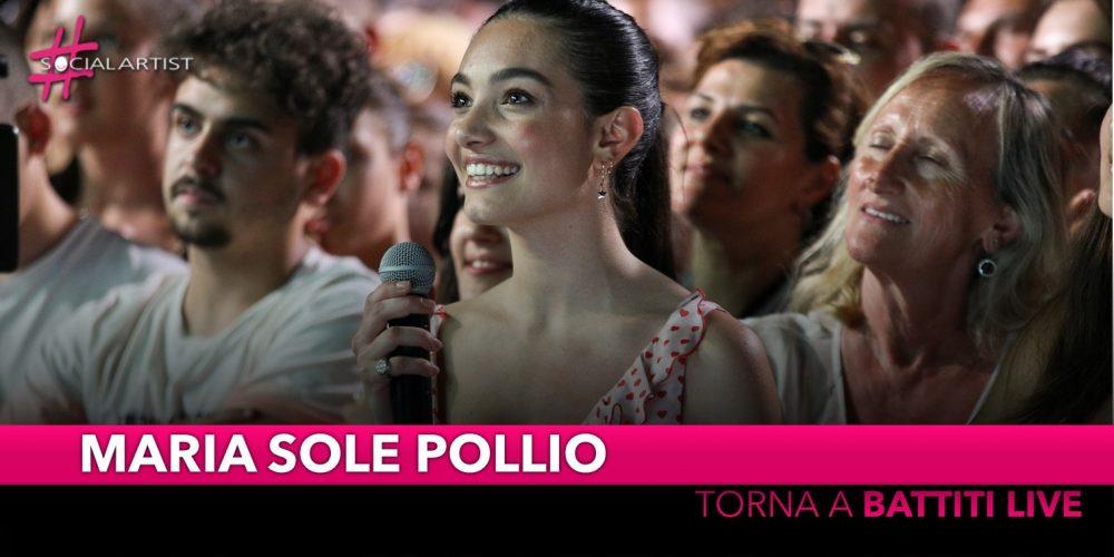 Maria Sole Pollio, dopo un anno incredibile torna a Battiti Live 2019