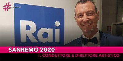 Sanremo 2020, sarà Amadeus a condurre la settantesima edizione del Festival di Sanremo