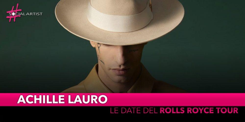 """Achille Lauro, cresce l'attesa per il """"Rolls Royce Tour"""""""