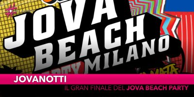 Jovanotti, il gran finale del Jova Beach Party all'Aeroporto di Linate