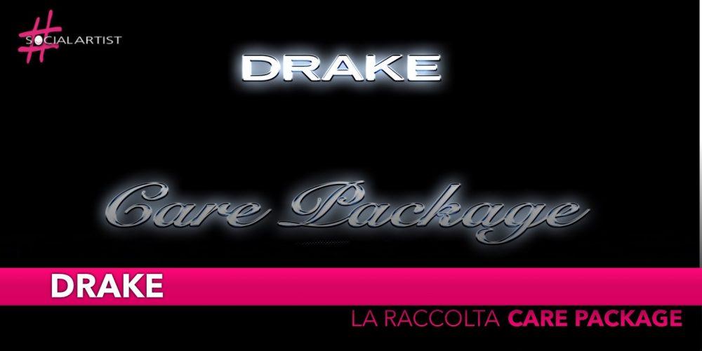 """Drake, dal 2 agosto la raccolta """"Care Package"""""""