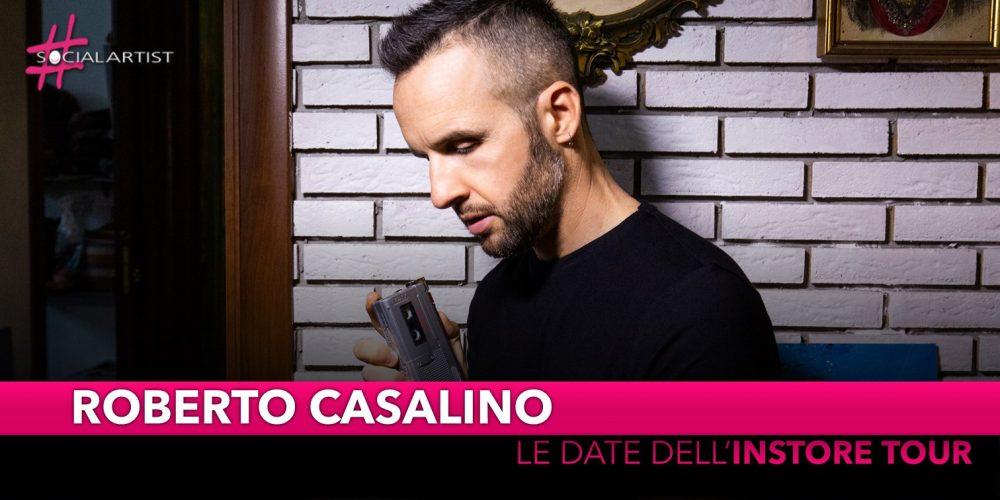 """Roberto Casalino, le date del """"Il Fabbricante di Ricordi Instore Tour"""""""