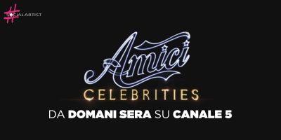 Amici Celebrities, dal 21 settembre in prima serata su Canale 5