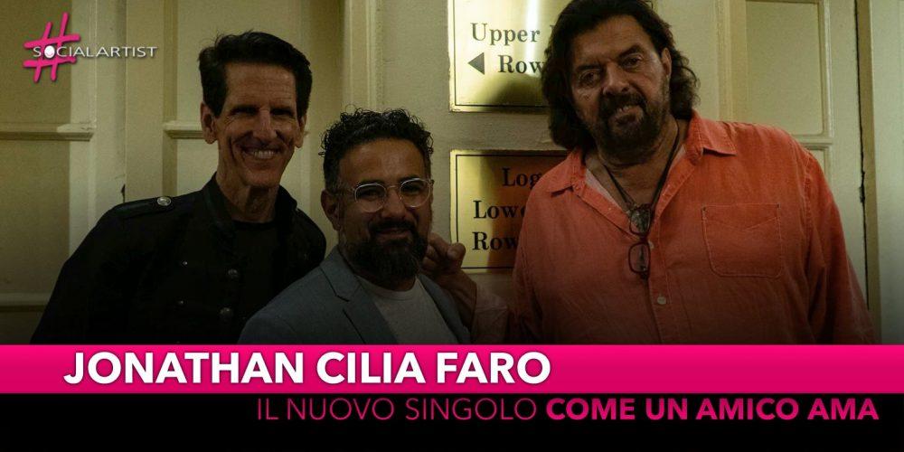 """Jonathan Cilia Faro, dal 26 settembre il videoclip di """"Come un amico ama"""""""