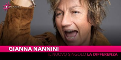 """Gianna Nannini, da venerdì 11 ottobre il nuovo singolo """"La differenza"""""""