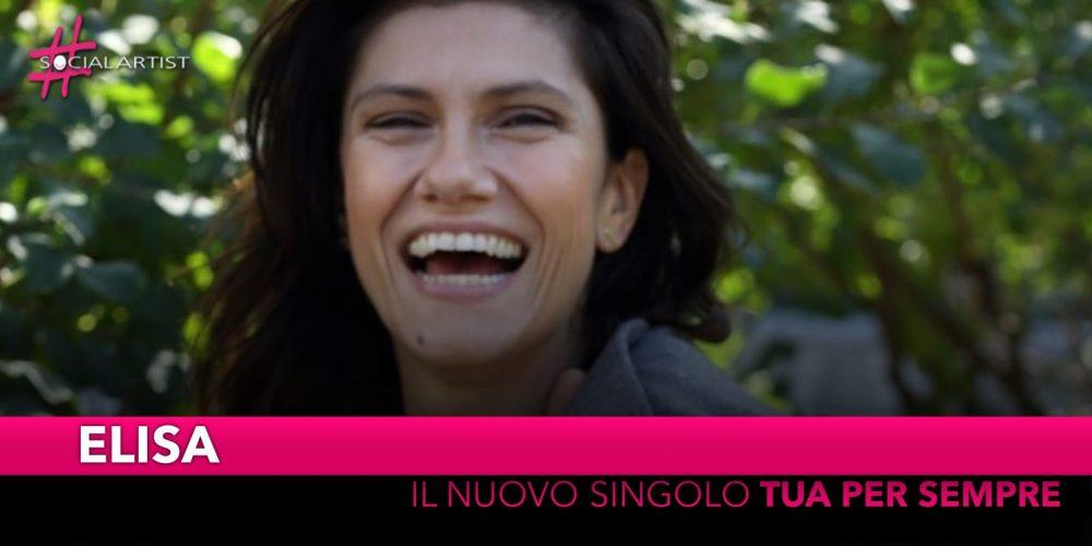 """Elisa, dal 13 settembre il nuovo singolo """"Tua per sempre"""""""