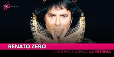 """Renato Zero, dal 13 settembre il nuovo singolo """"La vetrina"""""""