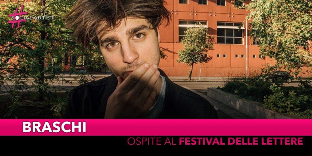 Braschi, ospite alla nuova edizione del Festival delle Lettere