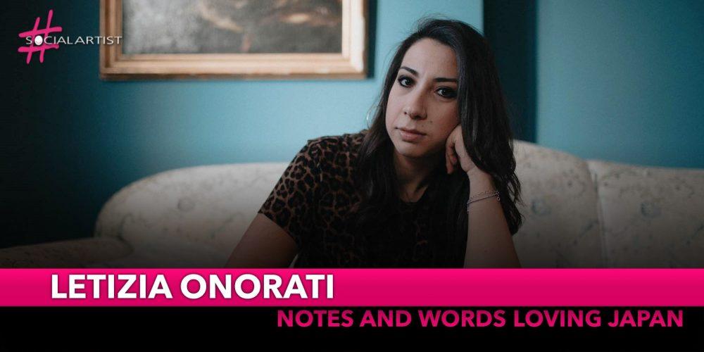 "Letizia Onorati, partirà da Osaka il tour""Notes and Words Loving Japan"""