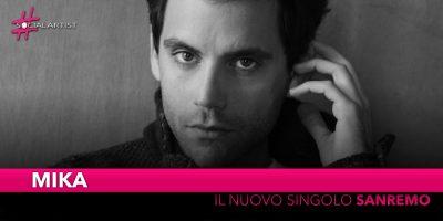 """Mika, pubblica il nuovo brano """"Sanremo"""" in attesa della pubblicazione del suo nuovo album"""
