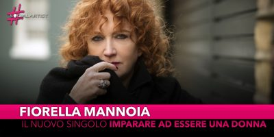 """Fiorella Mannoia, dal 27 settembre il nuovo singolo """"Imparare ad essere una donna"""""""