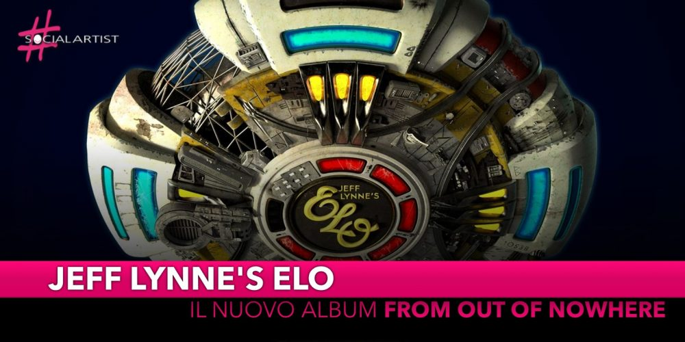 "Jeff Lynne's Elo, dal 1 novembre il nuovo album ""From out of nowhere"""