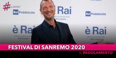 Festival di Sanremo 2020, Amadeus ha annunciato la formula della prossima edizione