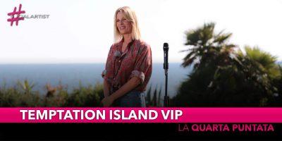 Temptation Island Vip, lunedì 30 settembre la quarta puntata