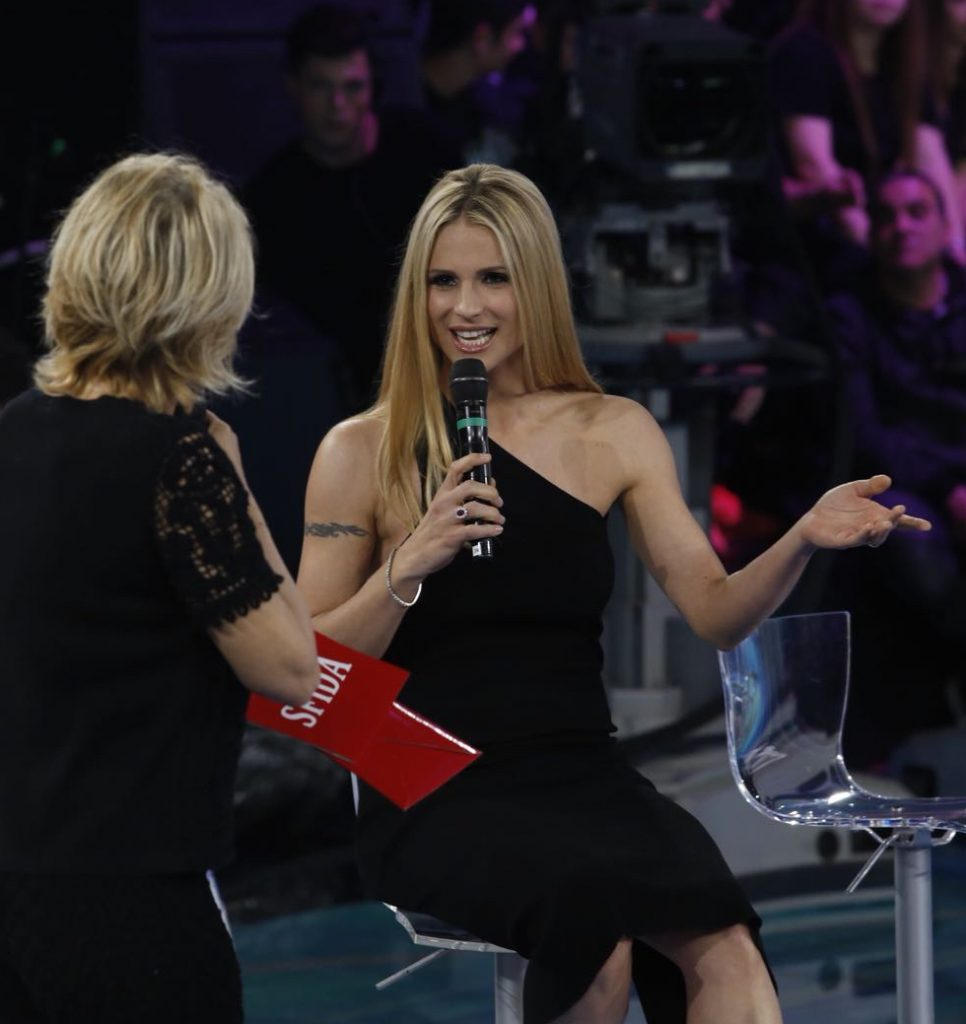 Amici Celebrities Michelle Hunziker