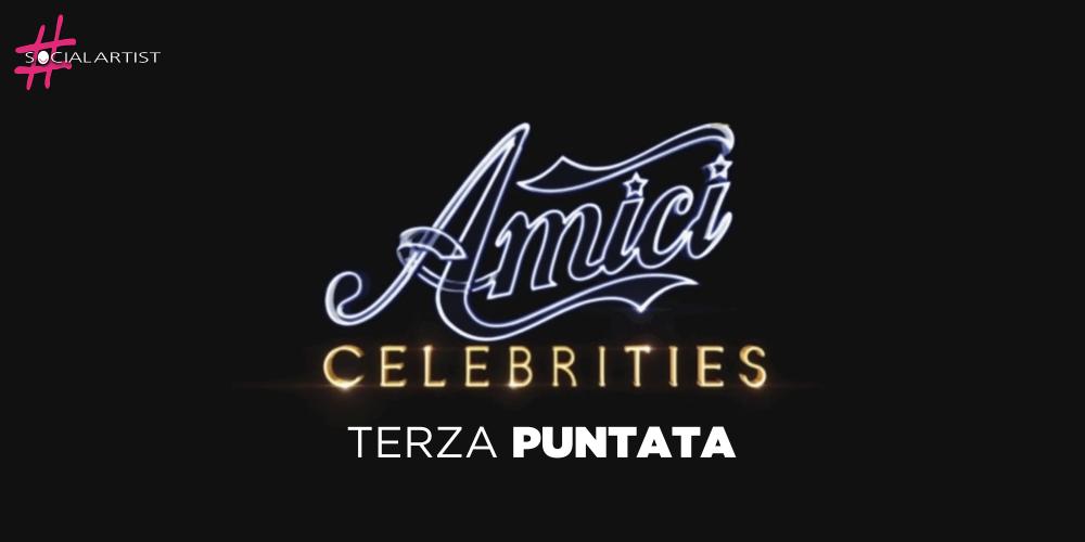 Amici Celebrities, la terza puntata in onda il 5 ottobre su Canale 5