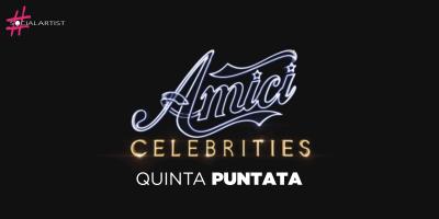 Amici Celebrities, la quinta puntata in onda il 16 ottobre su Canale 5