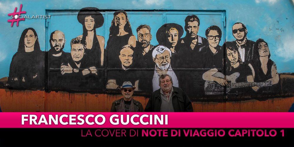 """Francesco Guccini, svelata oggi a Bologna la cover di """"Note di viaggio capitolo 1"""""""